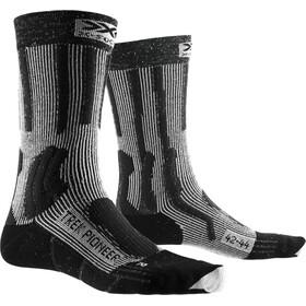 X-Socks Trek Pioneer Sukat Miehet, opal black/flocculus white